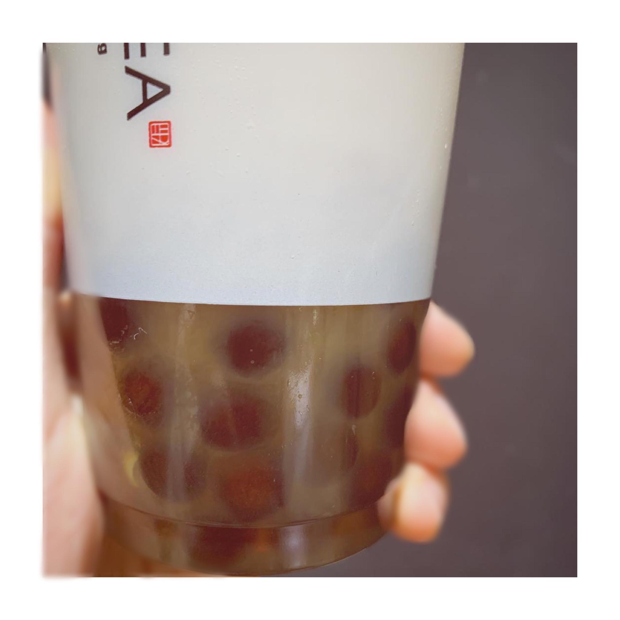 《#タピ活❤️》実は穴場⁈【東京•丸ビル】TP TEAの大粒タピオカ鉄観音ラテが絶品☻!_2