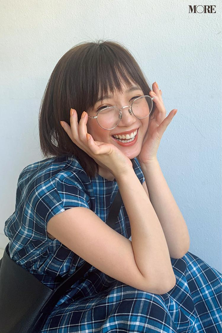 本田翼のメガネ姿、どの表情が1番好き? 「グルメチキンレース ゴチになります!21」も注目して♡【モデルのオフショット】_1