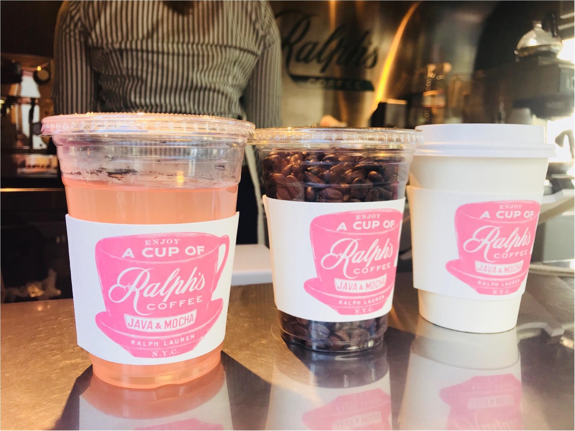 期間限定で《ラルフズコーヒートラック》がピンク色に!限定ピンクレモネードが美味♡_3
