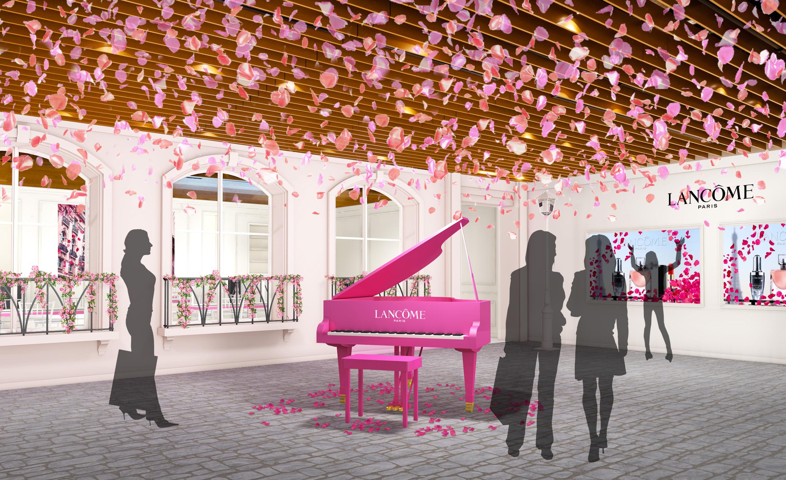 限定イベント「ランコム ハピネス サロン」は、ローズが舞う華やかな空間♡ 人気美容液  「ジェニフィック アドバンスト」が1年分当たるチャンスも!_3