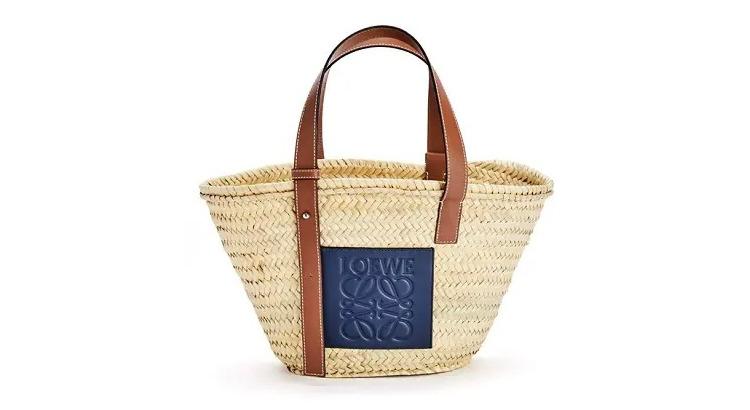 ロエベ新作かごバッグのバスケット バッグ