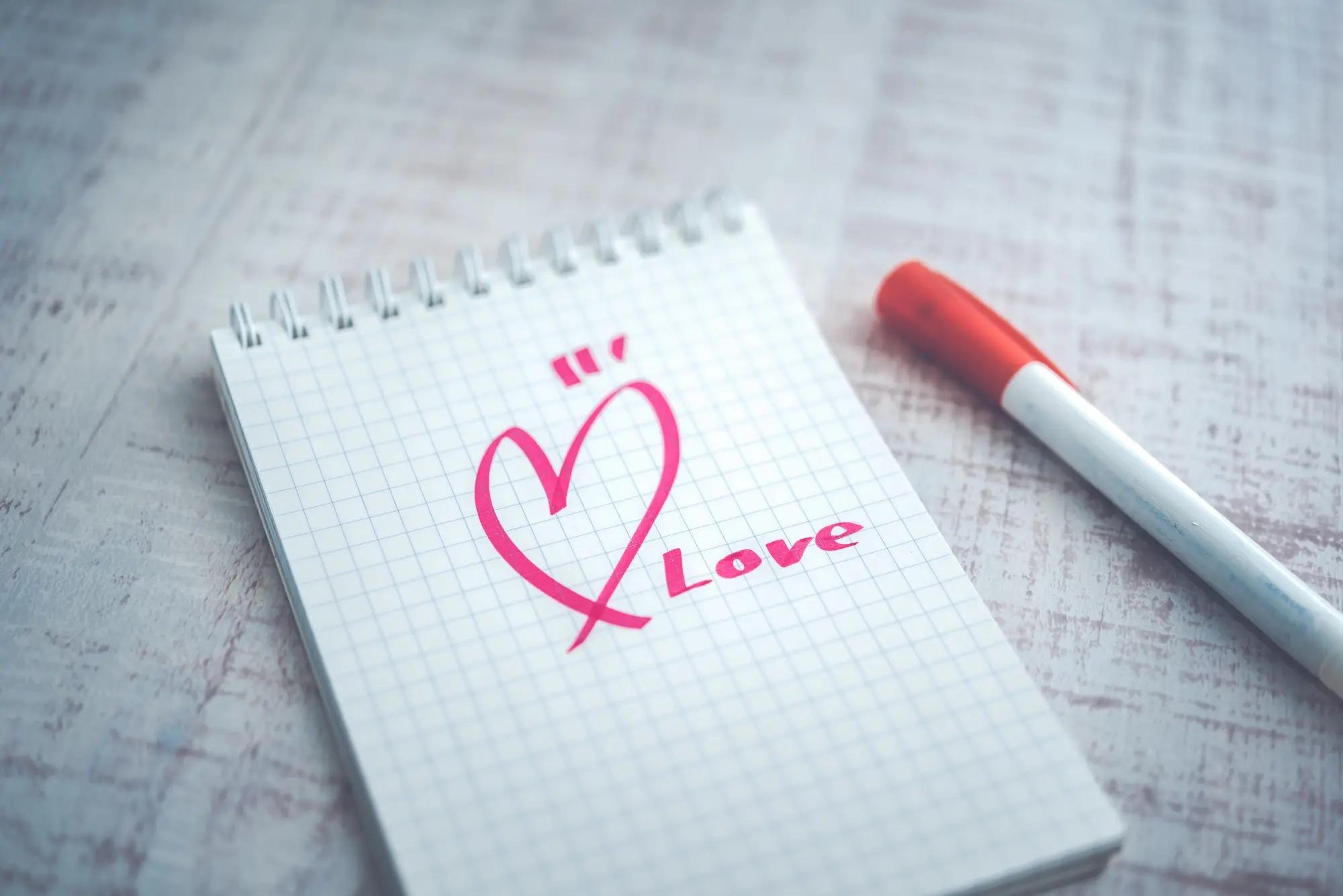 恋人に送る手紙