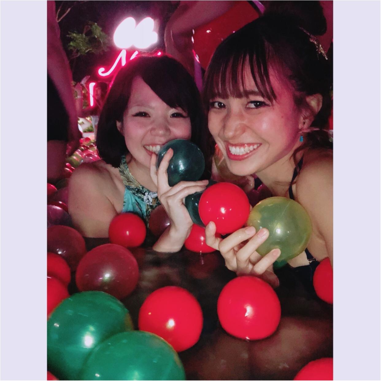インスタ映え間違いなし‼︎【ナイトプール】in東京プリンス 〜映える写真の撮り方教えます♪〜_2