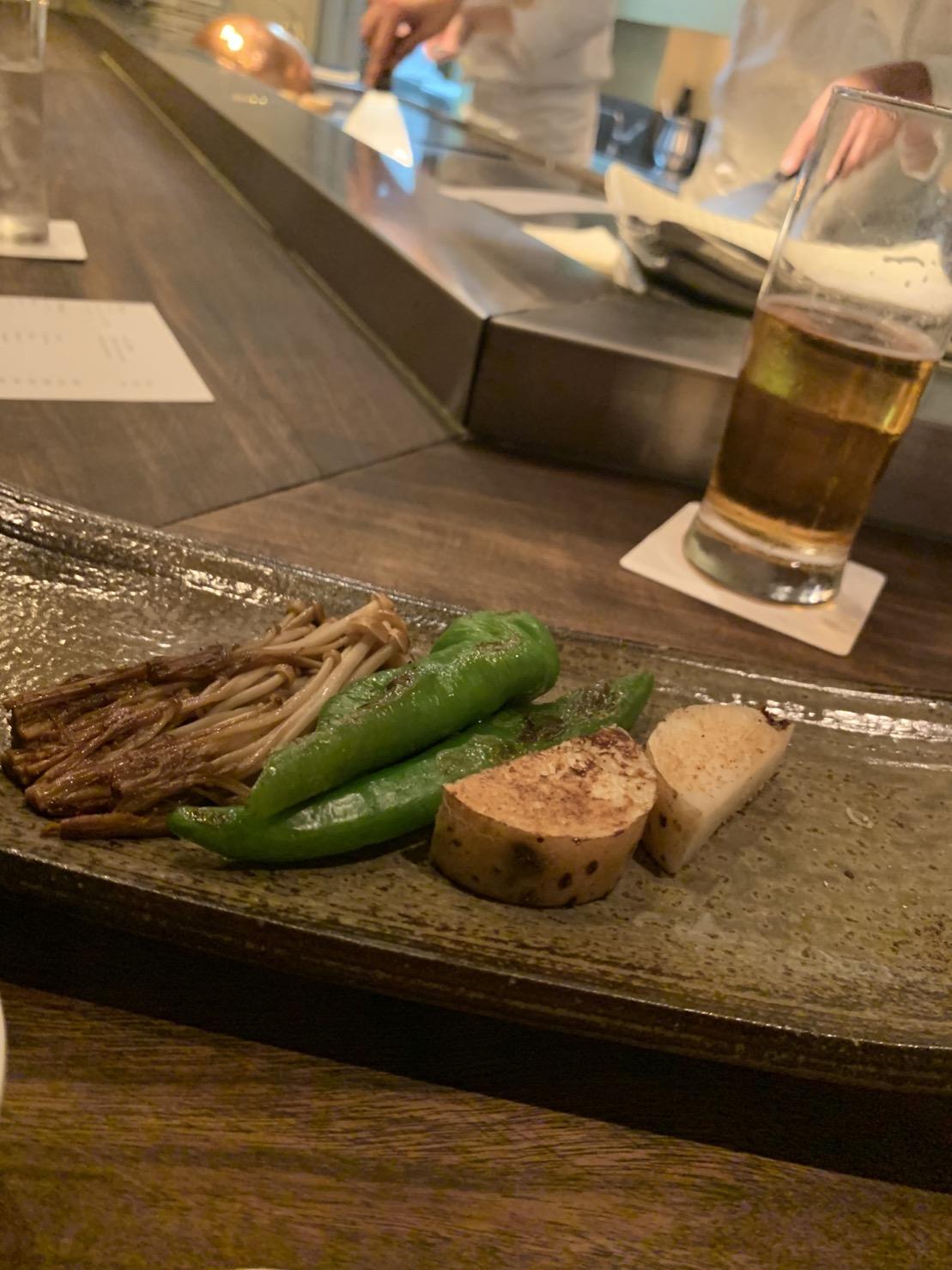 ★東京鉄板焼きディナー★バンブーグラッシィ_2