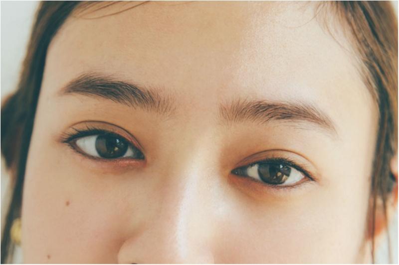 """""""くの字オレンジ""""&""""黒目拡大カーキ""""......「引き寄せアイライン」で即モテの夏♡_2"""