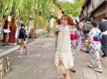 Premiumインフルエンサーズのインスタ拝見! 旅行が大好きな黒田真友香さんは、初めて訪れた石川県・金沢旅行の思い出をシェア♡