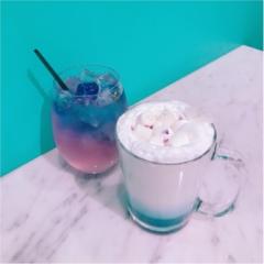 ★ブルー→パープルの変化系ドリンクがあるお店♡大好きな水色がたくさん!『CAMPANELLA CAFE』へ行ってきました★