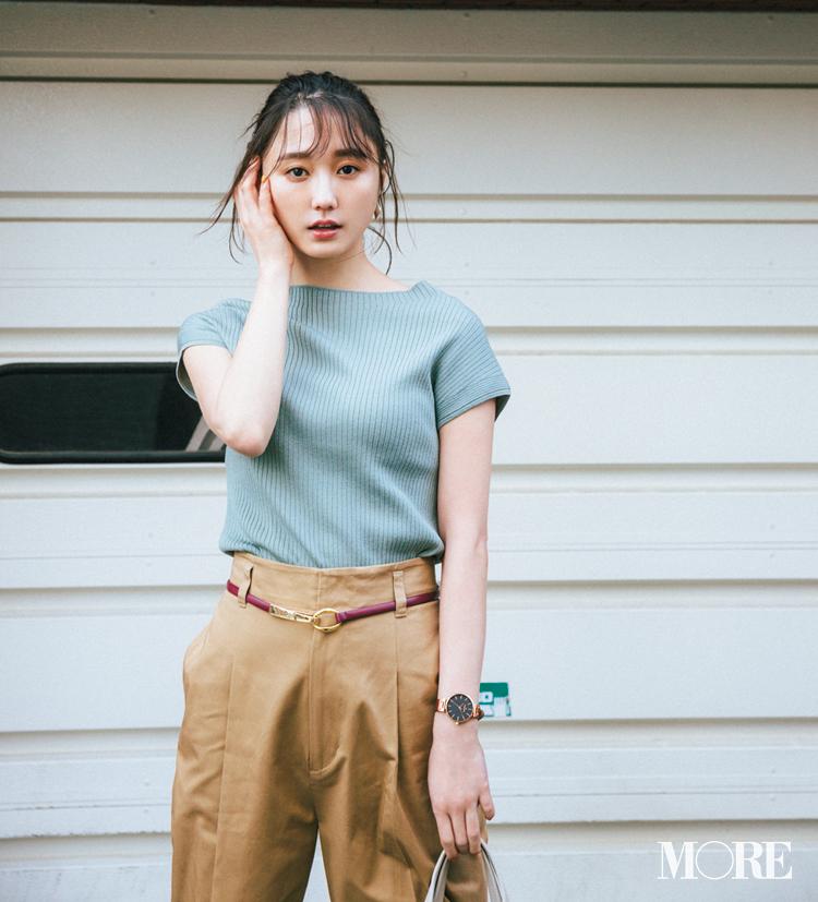 ベージュコーデ特集(20代後半女子向け)- 春におすすめのワンピースやスカート、靴などのコーディネートまとめ_14
