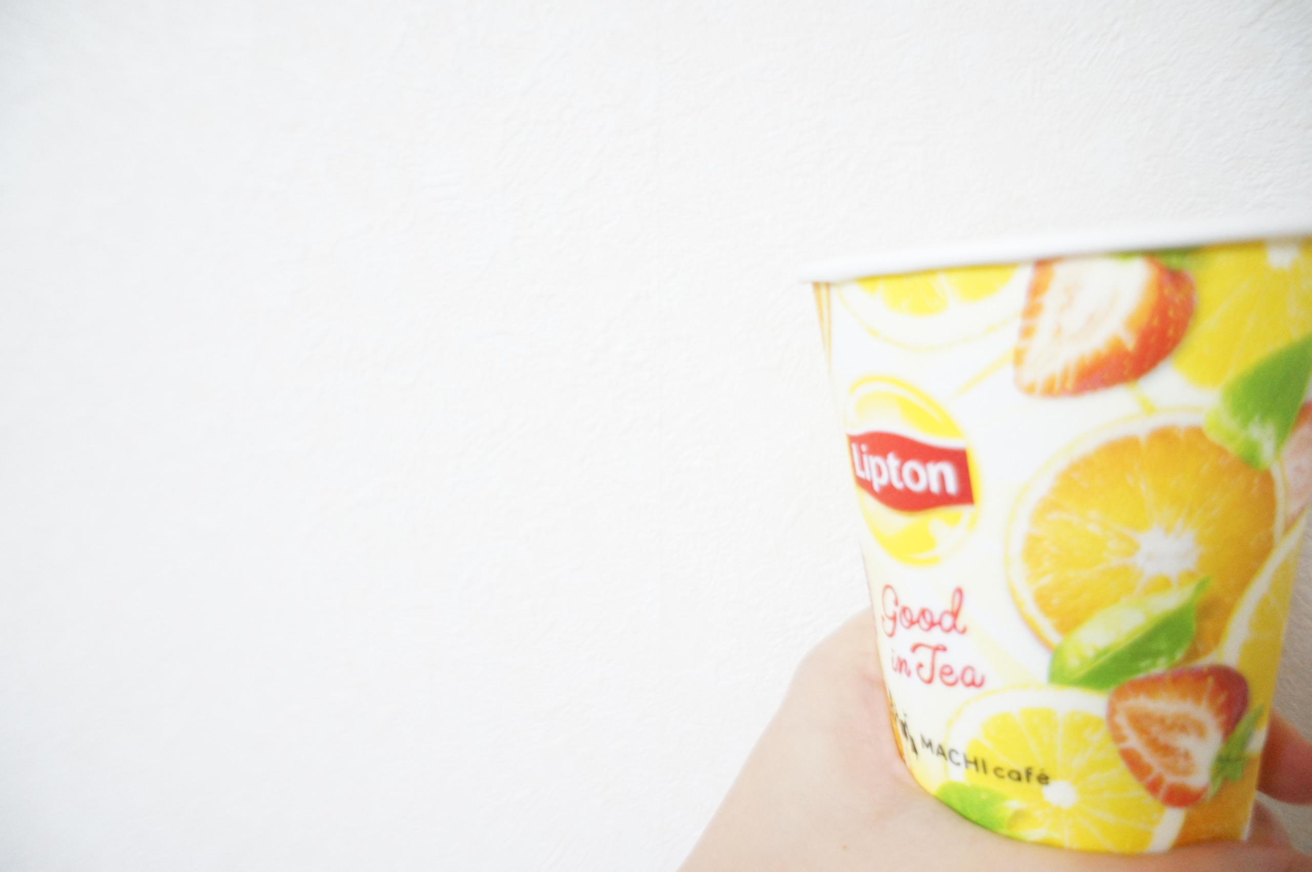 《本日2/26発売❤️》大人気だった【LAWSON × Lipton】のフルーツティーがHotになって再登場☻_3