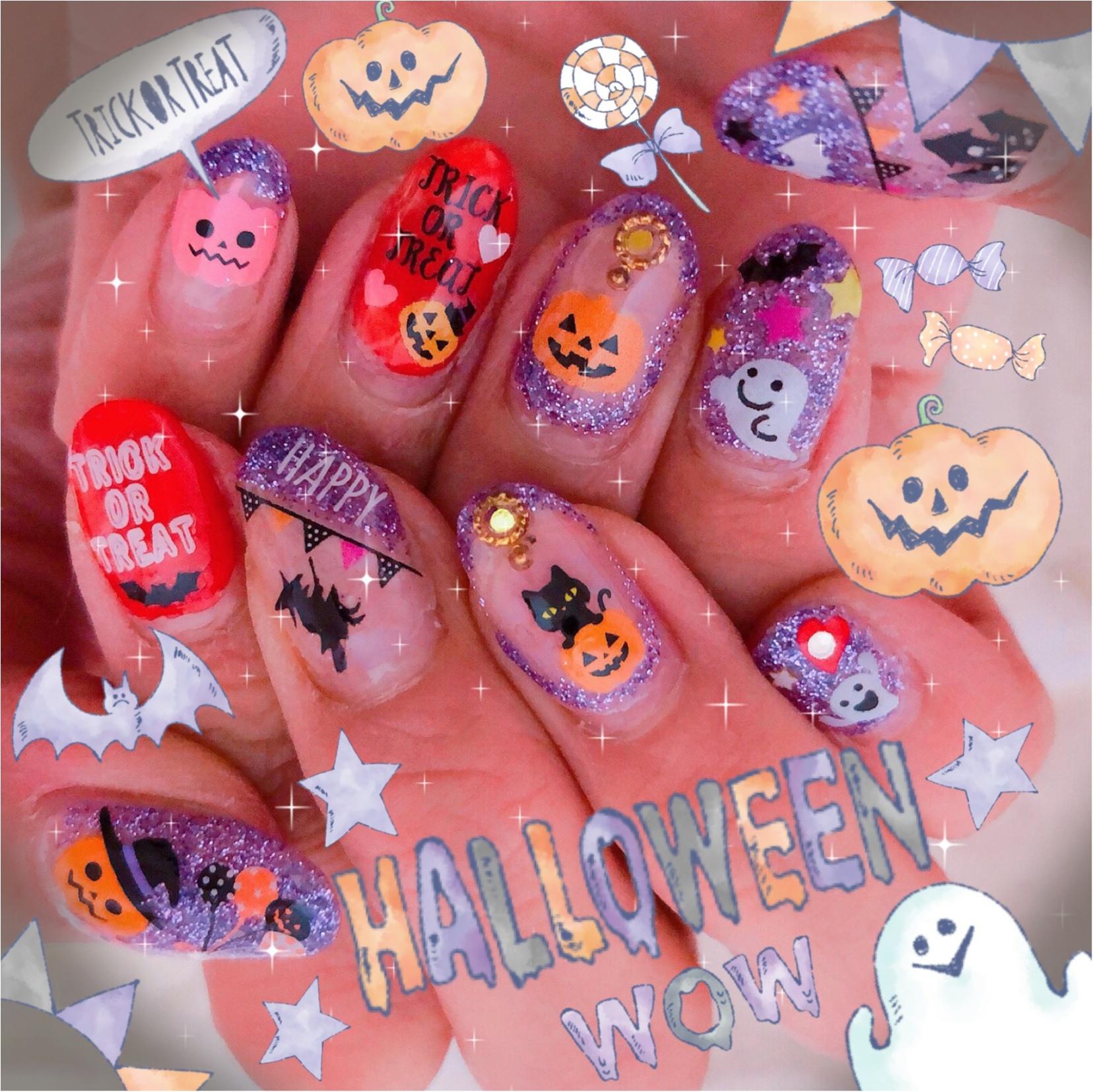 Halloween☆Nail 第二弾〜〜ネイルもHalloweenに!_1