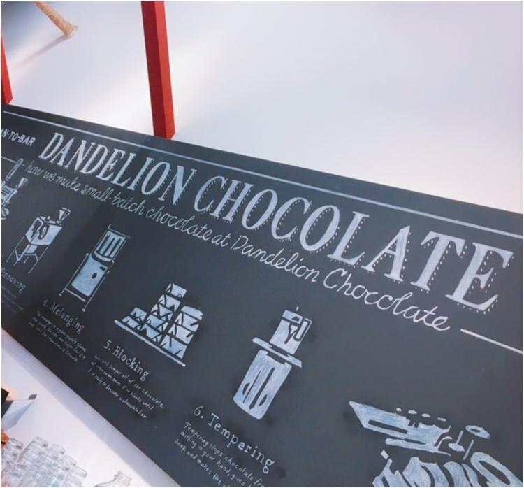 《サンフランシスコからやってきた注目のチョコレート工房♡》カカオ豆本来の味が楽しめるダンデライオンの絶品ホットチョコレートドリンク♡_2