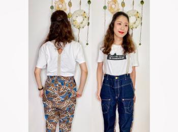 【オンナノコの休日ファッション】2020.8.12【うたうゆきこ】