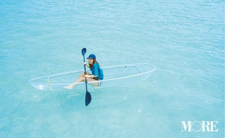 内田理央が提案。ハワイの海がもっと楽しくなる、絶景と水着♡_1