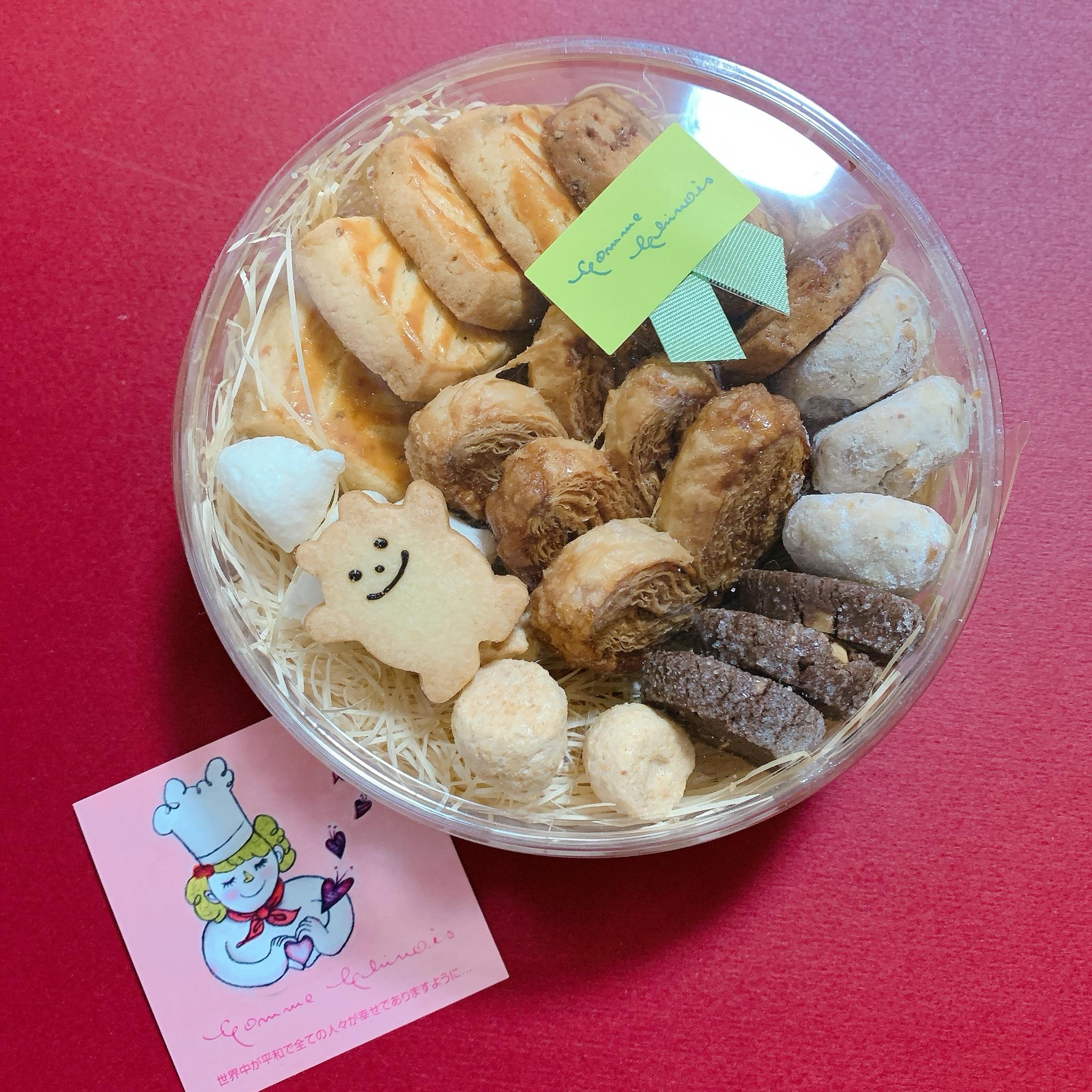 【神戸】フレンチや洋菓子、パンで有名な コム・シノワのクッキー サブレ詰め合わせ【おもたせ お土産】_1