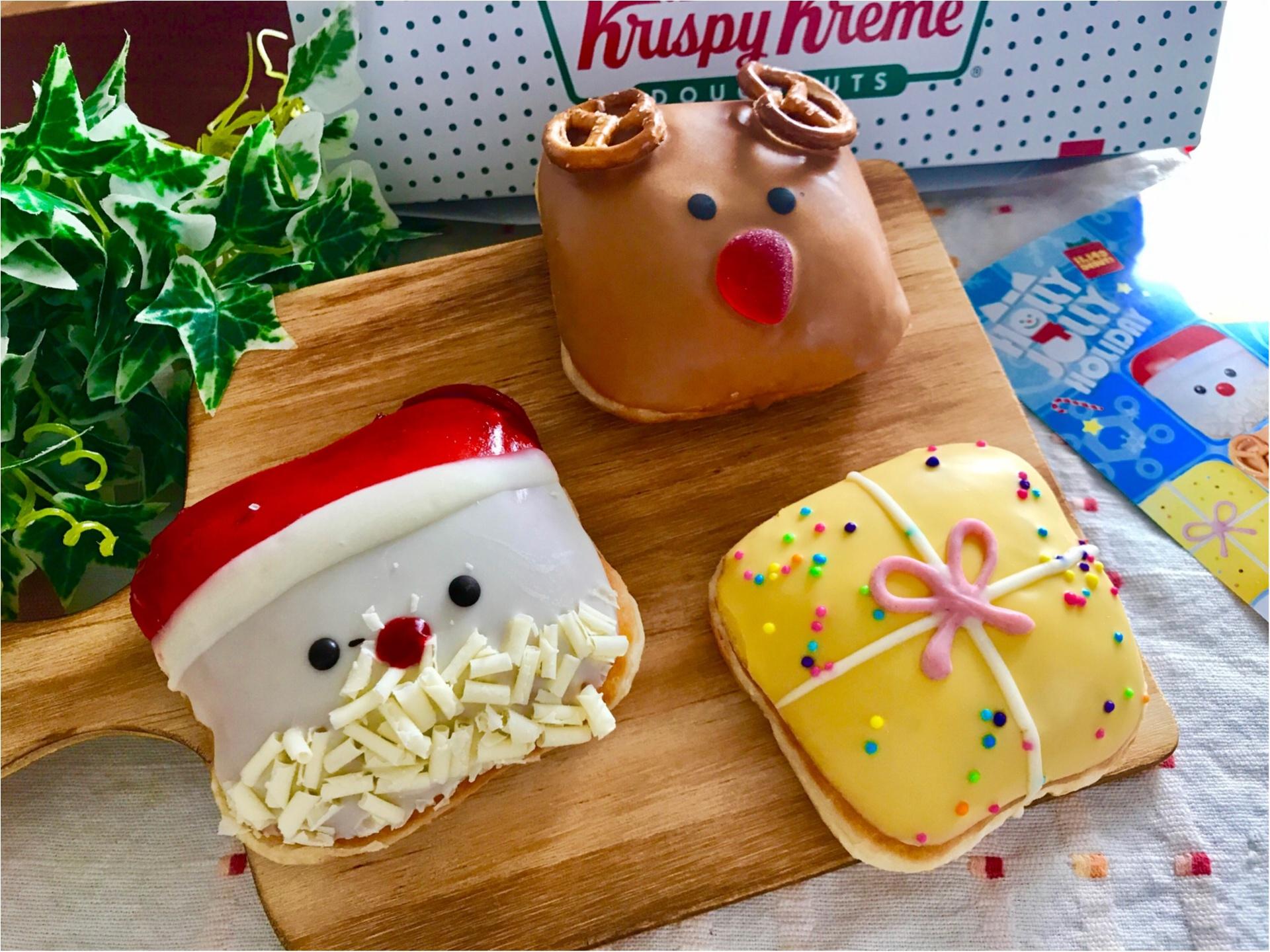 【クリスピークリームドーナツ】クリスマス限定ドーナツが可愛すぎると絶賛の嵐♡_6