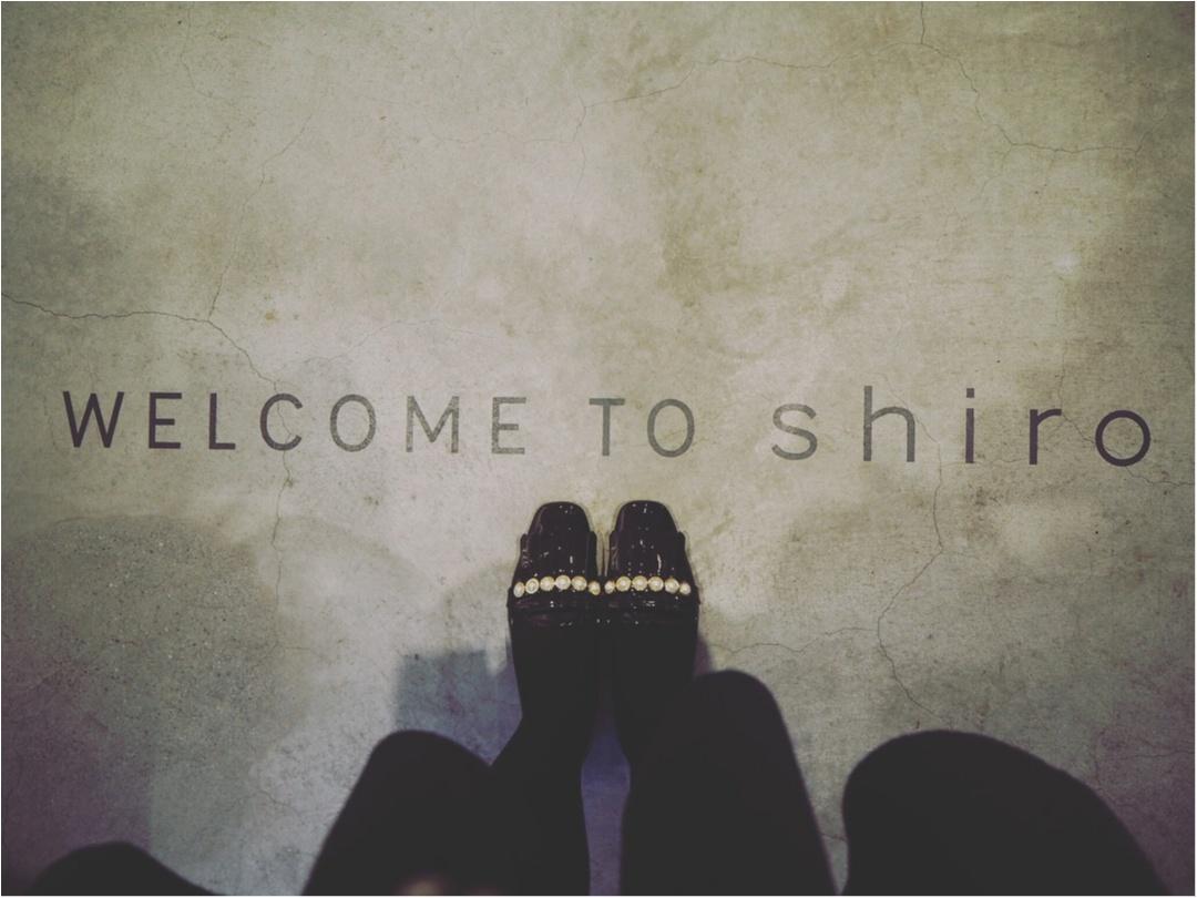 【自由が丘/CAFE】お洒落な街を堪能!1軒目はスキンケア商品も手掛ける『shiro』カフェへ★お相手はMOREハピ部のあのお2人...❤︎_1