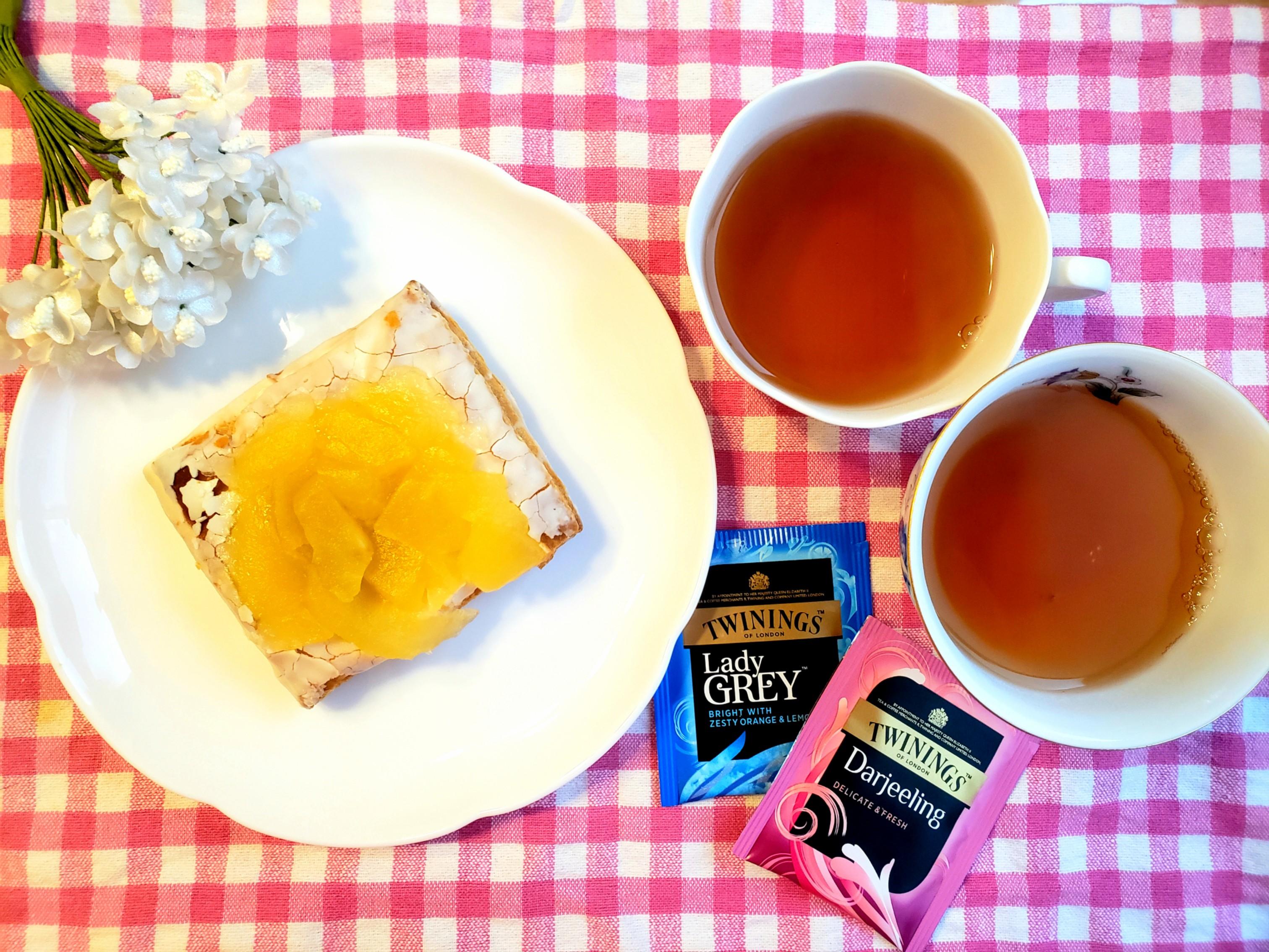 【ファミマ】の新作デザートとTWININGS紅茶2種で《フードペアリングvol.2》☆_1