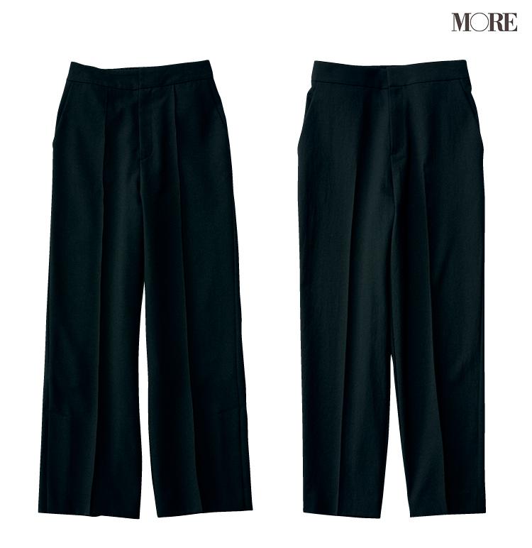 ユニクロで発見☆ 骨格診断で【ストレートタイプ】の人に似合う黒パンツがとてもきれい♡_6