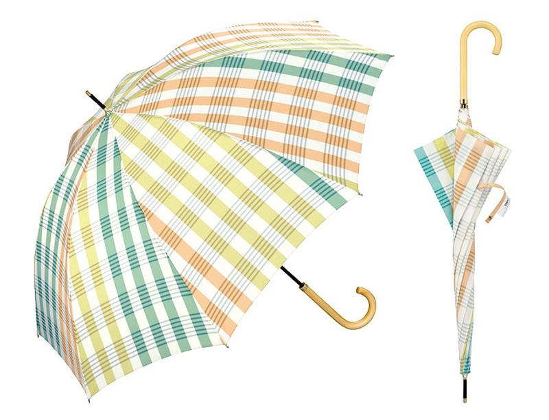 Wpcのチェック柄傘