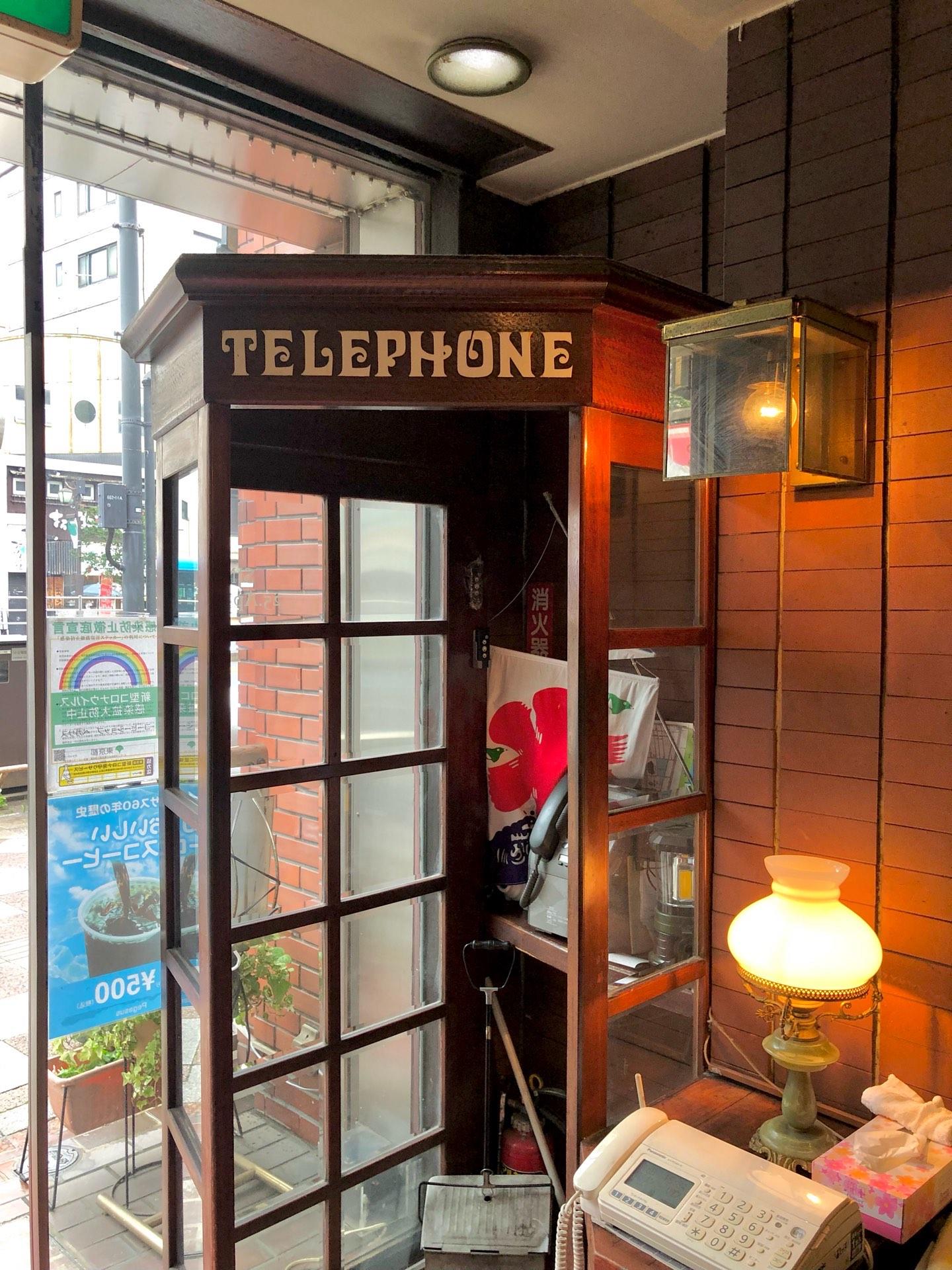 電話ボックス写真