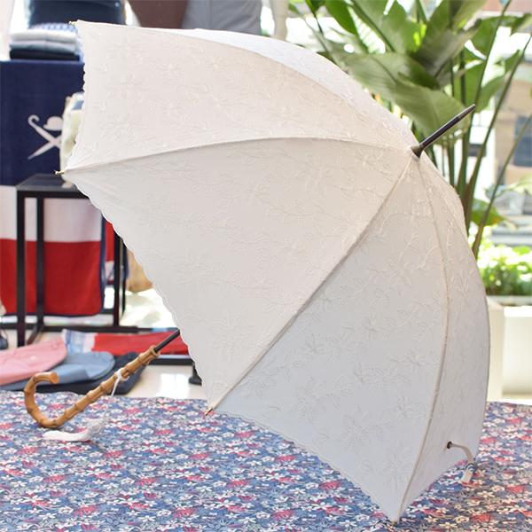 母の日ギフト、フォックス・アンブレラの白い傘