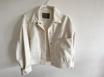 【春服】《uncrave》から待望のデニムシリーズが登場!白ジャケットで爽やかなお出かけコーデ♡
