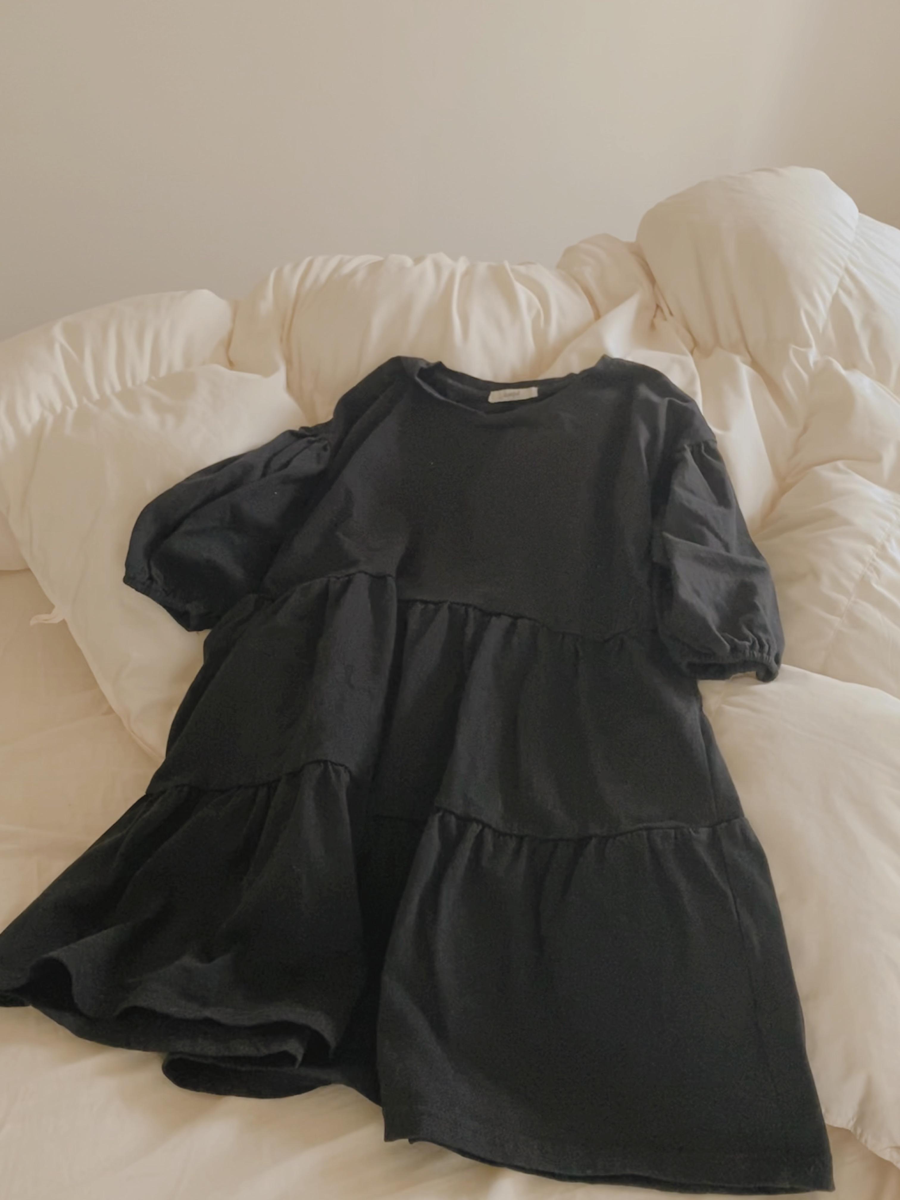 【しまむら】驚きの890円フレアブラウスを着てみた感想_1