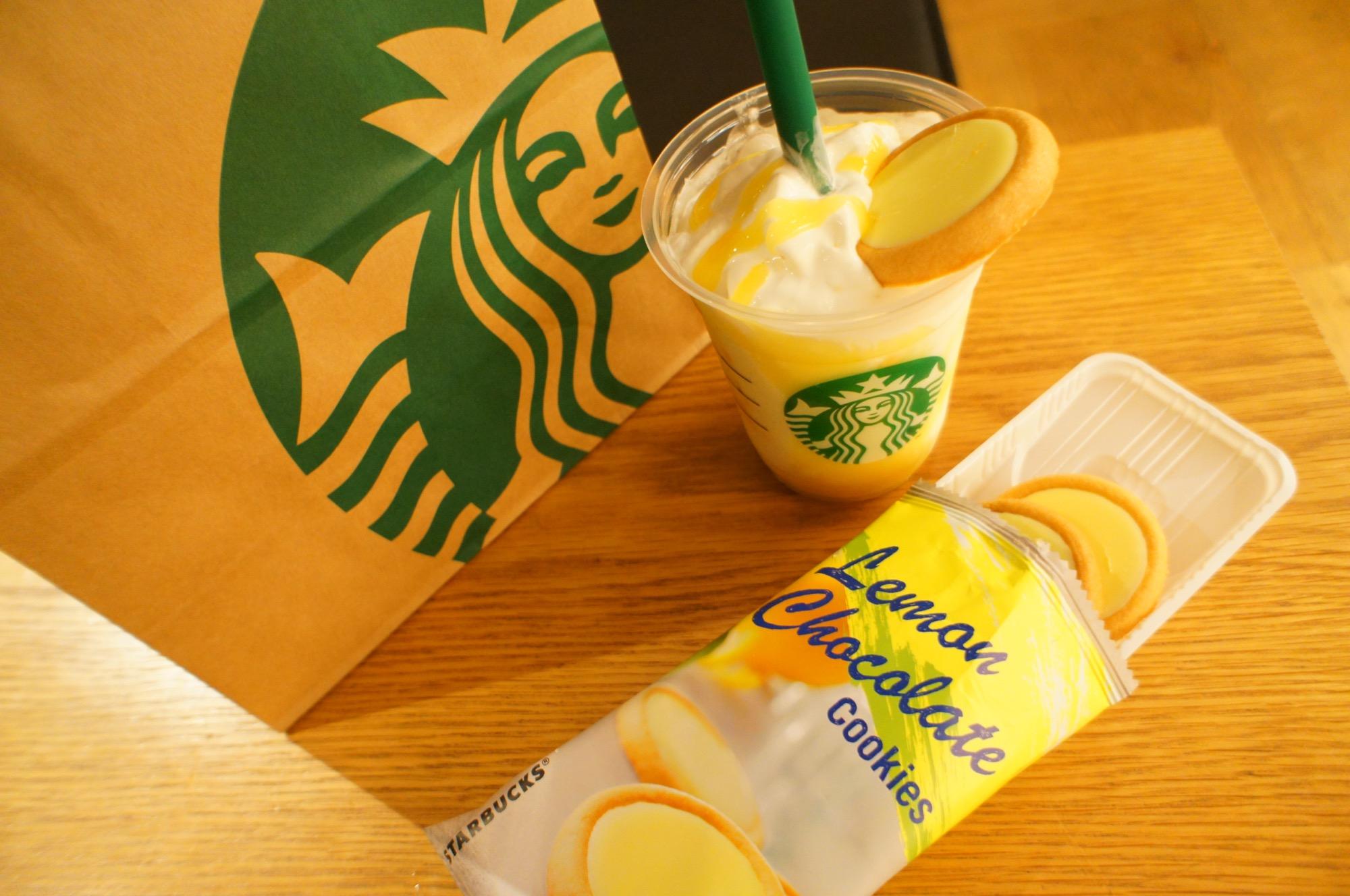 《レジ横foodに注目❤️》【スタバ】レモンチョコレートクッキーが美味しい☻!_3