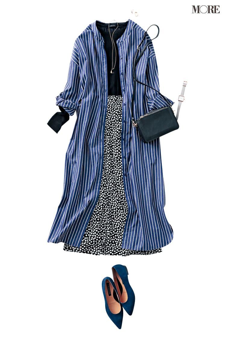 シャツワンピースの着こなし術【2020春】- 今年イチオシの色・形は? とびきり今っぽくておしゃれな最新ファッションまとめ_26