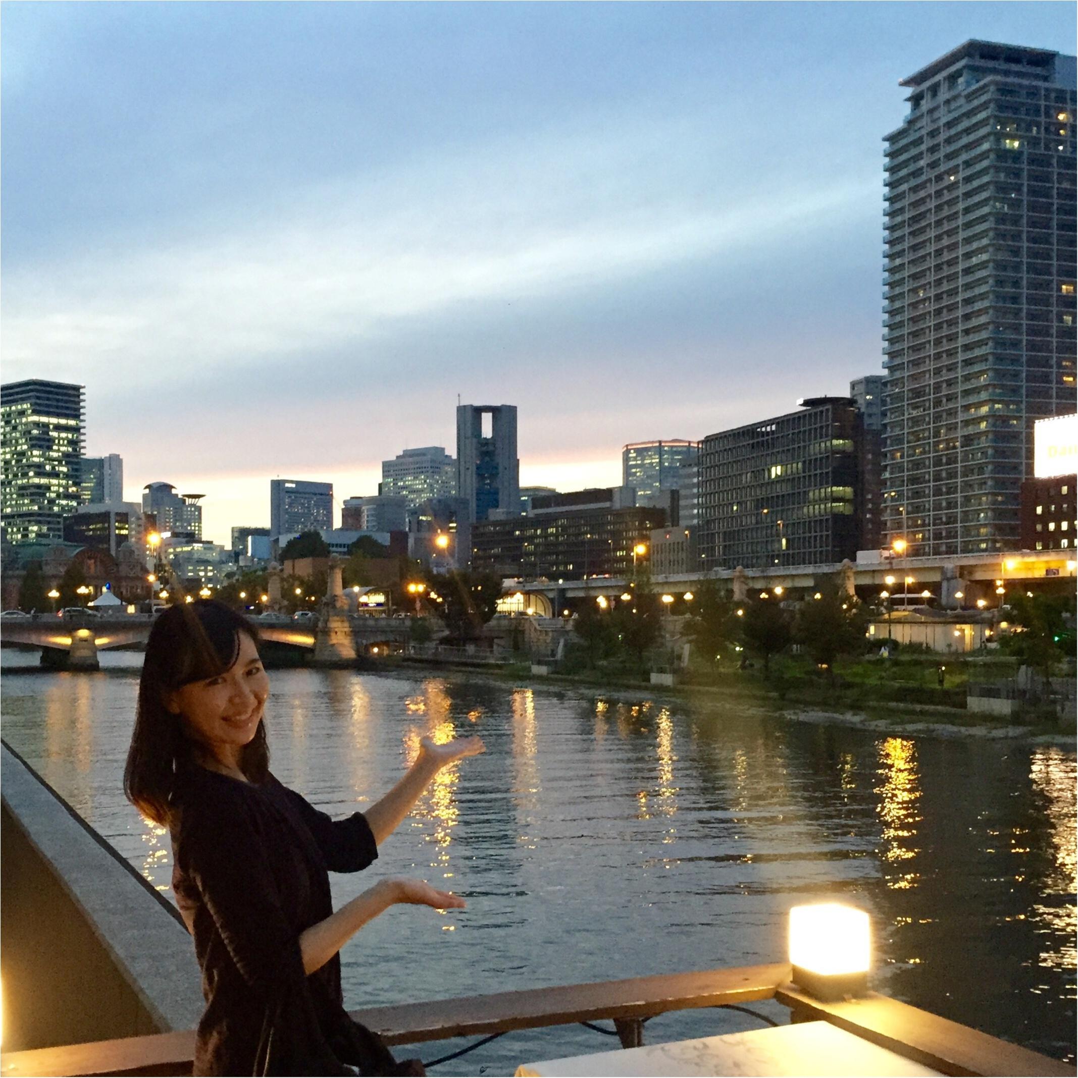 北浜の絶景!大川沿いのテラス席でお酒を楽しもう♡_2
