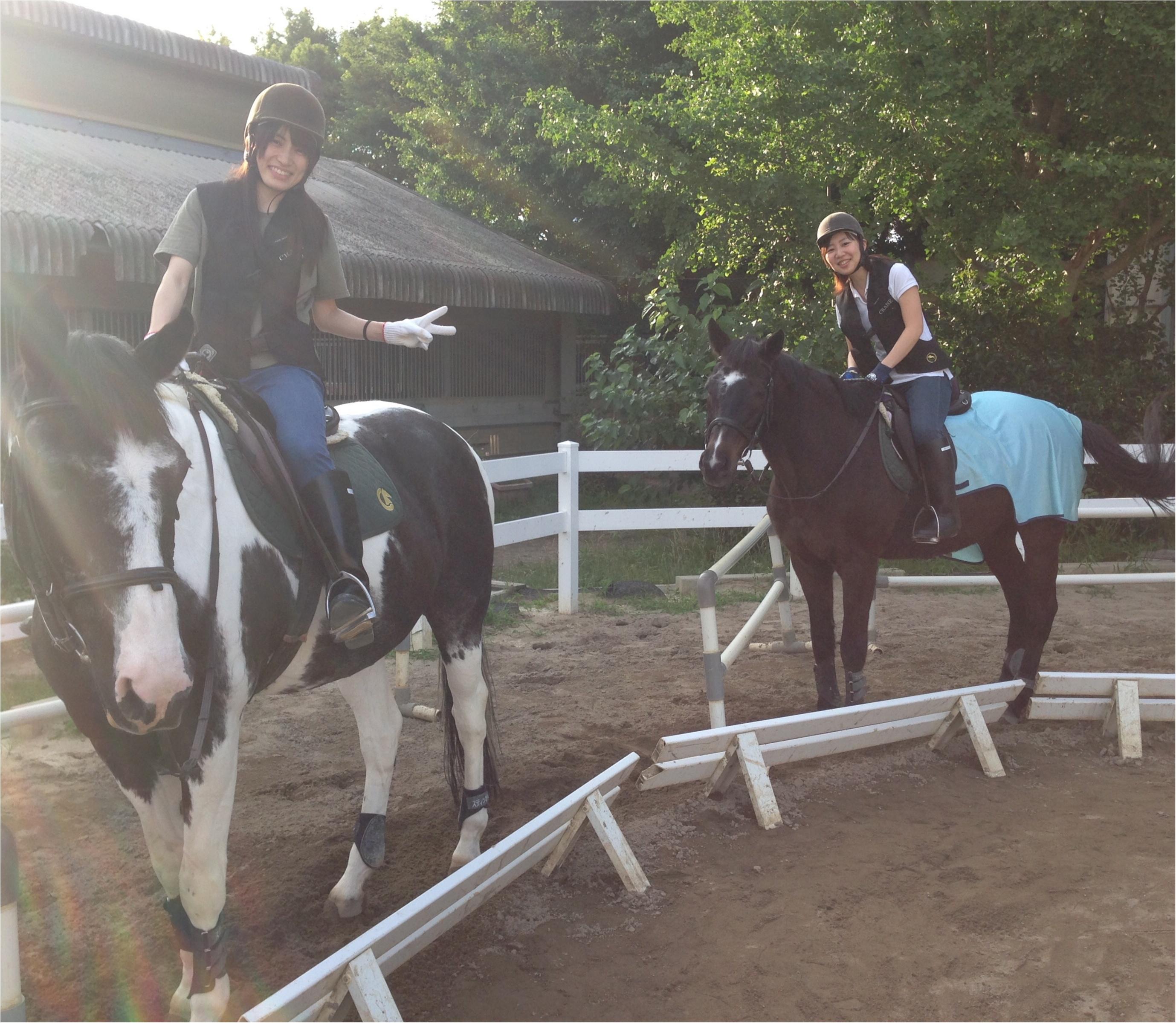 馬にアモーレ!!ステキな週末★都内で乗馬したことありますか?\(//∇//)\_9