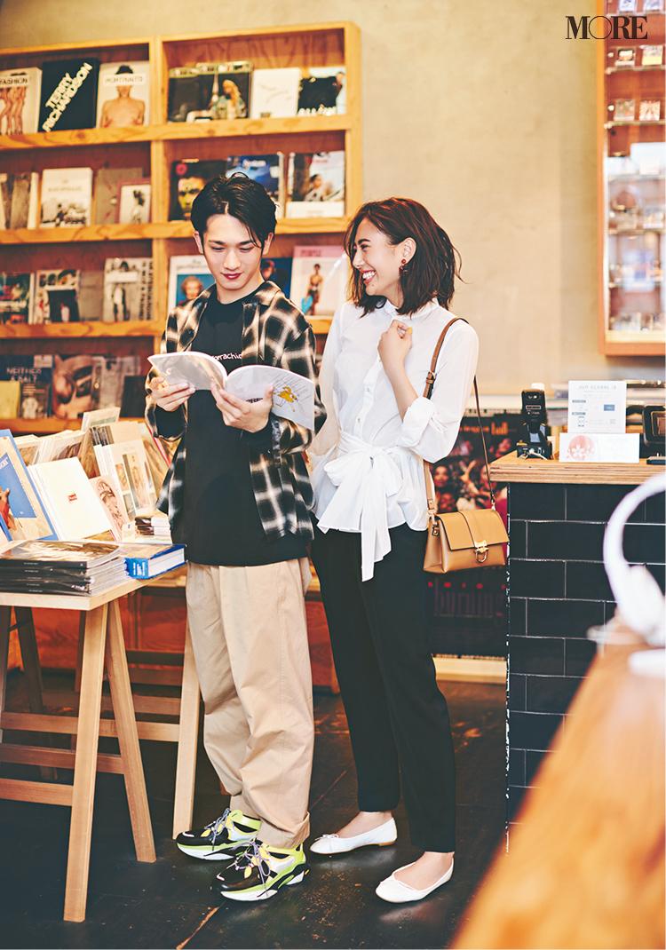 彼とのデート。うん、幸せっ♡ 土屋巴瑞季&鈴木友菜着回し連載『ノンストレスボトム』15日目_2