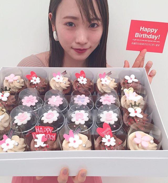 川栄李奈さんのお誕生日をお祝いしました❤︎【撮影のオフショット】_1