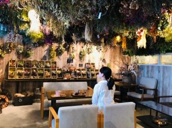 【長野 カフェ】お花に囲まれた素敵なカフェ