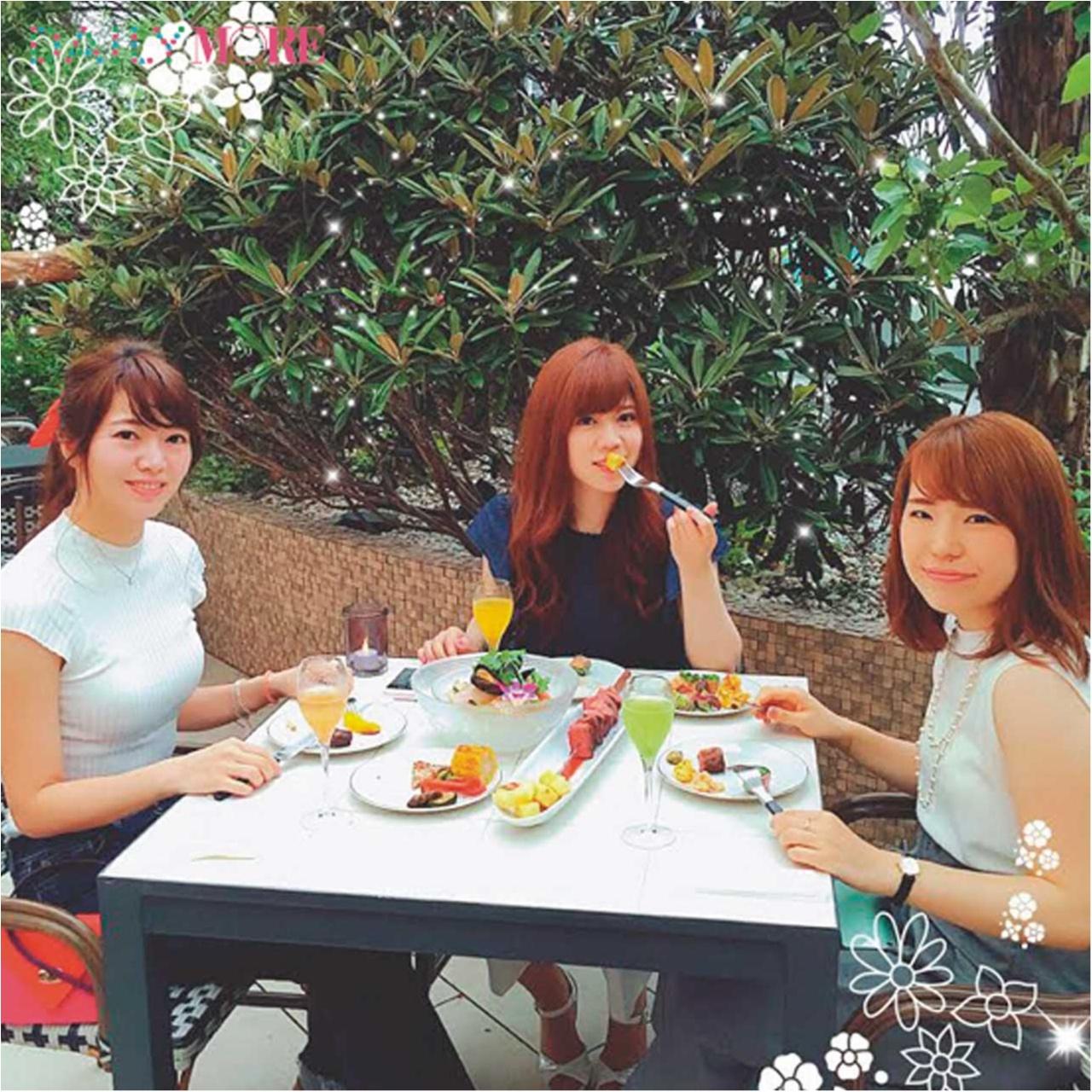 緑豊かなビアガーデンでエスニック料理を楽しむなら『ヤドヴィガ』!【モアハピ部の三ツ星女子会スポット♡】_3