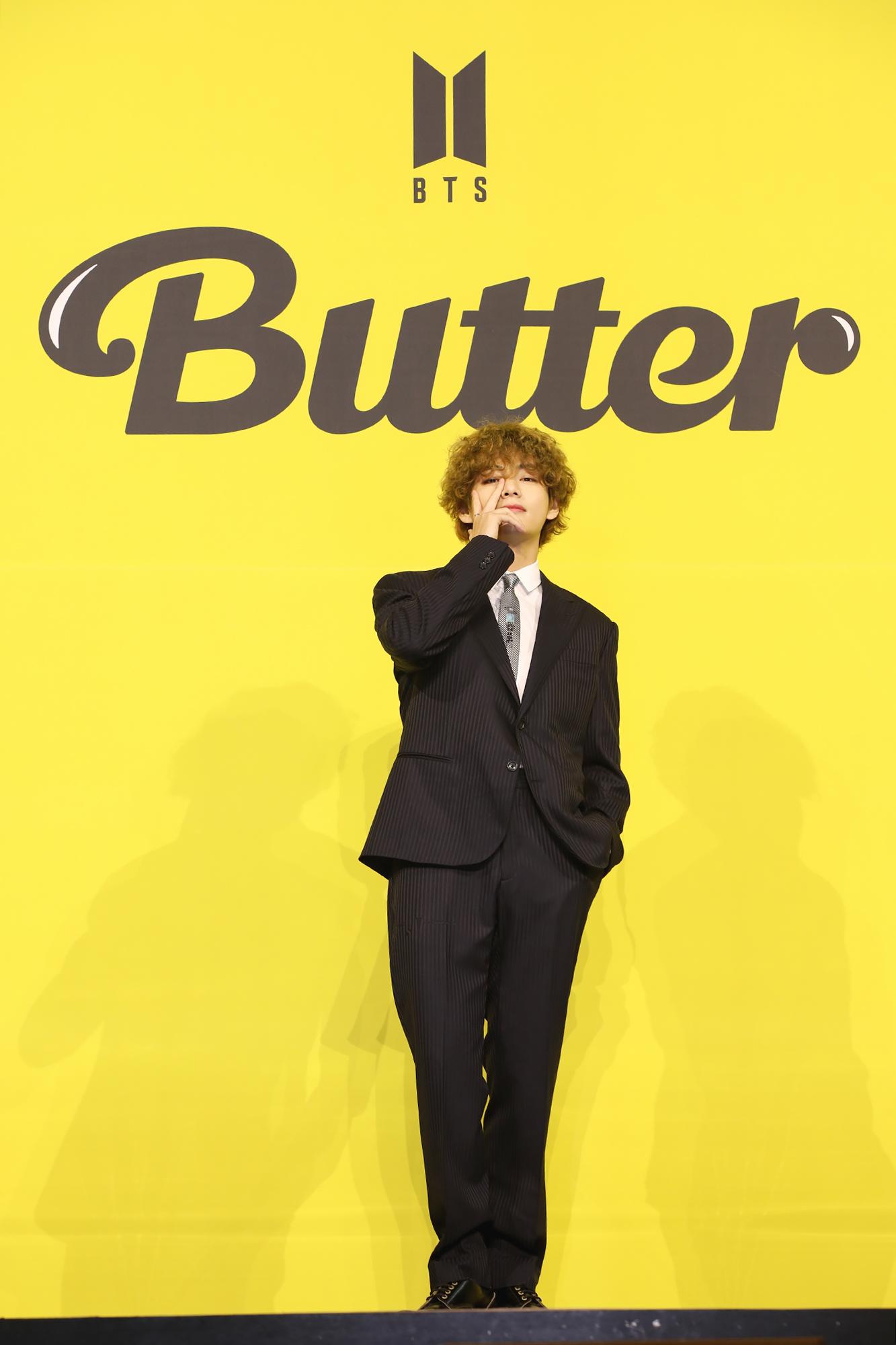 "【BTS 会見写真16枚!】""お気に入りは自分のパート""合戦勃発!? 「Butter」発売記念 グローバル記者会見 PhotoGallery_1_16"