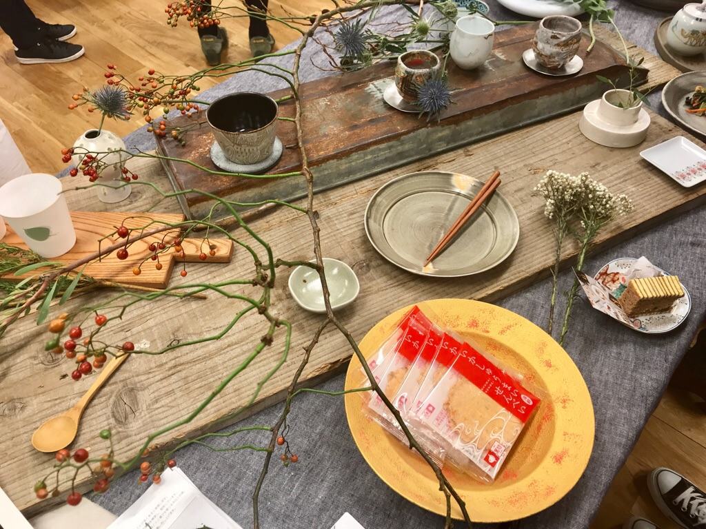 【朝時間.jp】料理が映える!《佐賀の和食器で楽しむテーブルスタイリング講座》へ♡_3