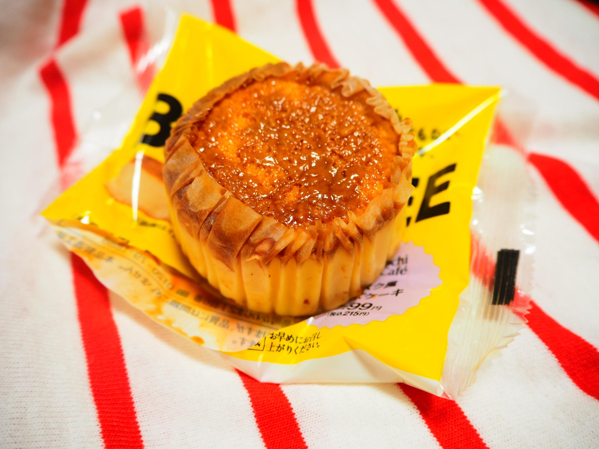 ✴︎✴︎✴︎【コンビニスイーツ】 大ヒット間違いなしと話題のバスク風チーズケーキ(((BASCHEE)))をご紹介!✴︎✴︎✴︎_2