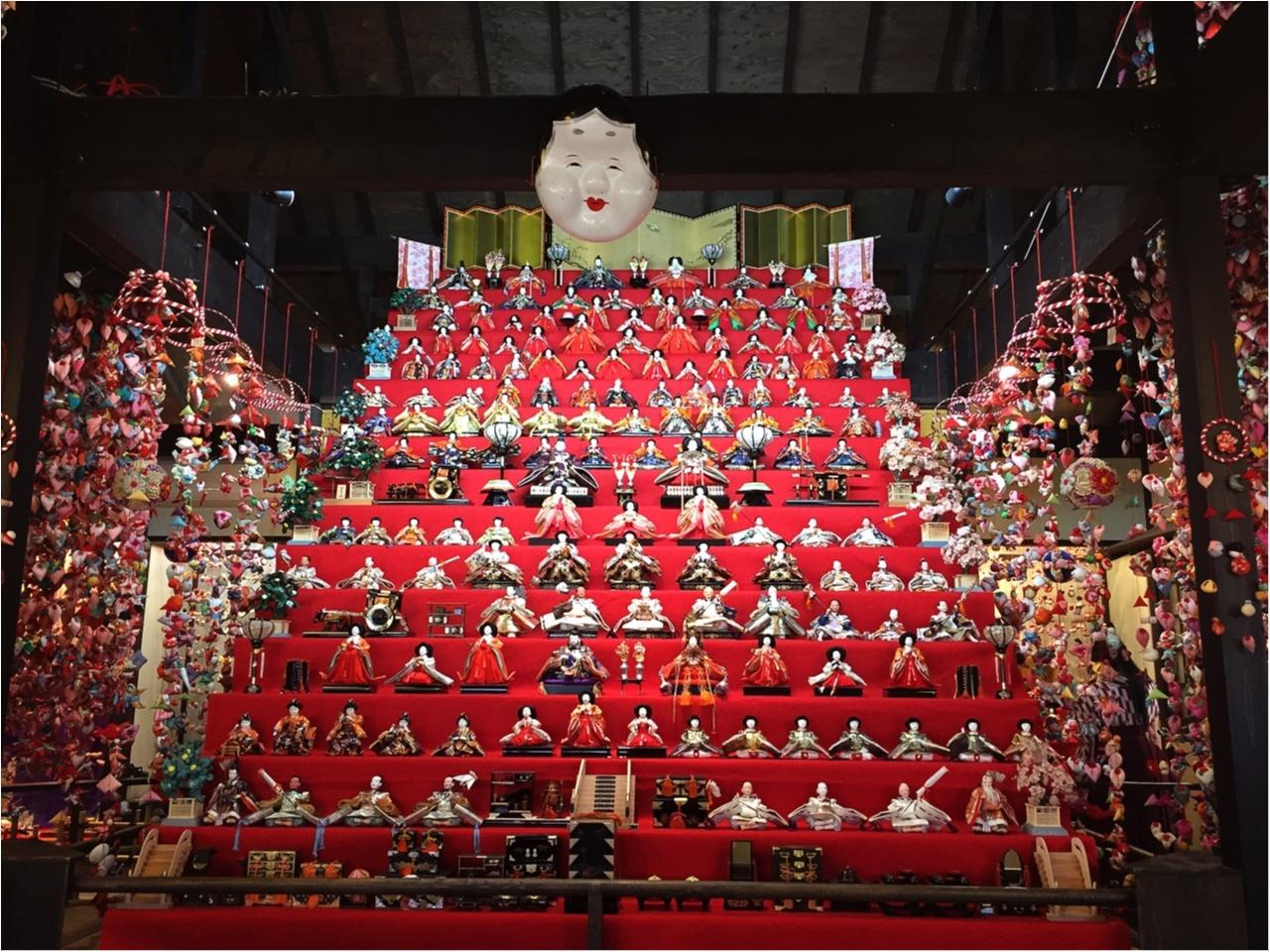 この時期ならではの感動と迫力を!伊豆稲取温泉の『雛のつるし飾り』を見てきました♡*_2