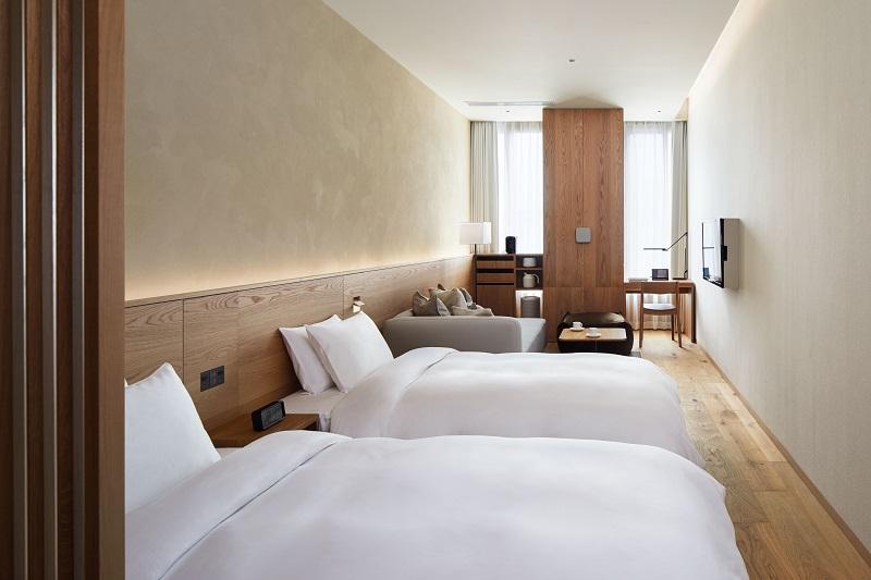 『MUJI HOTEL GINZA』の9タイプの客室、全部見せます♡ 家具からベッド、食器まで。無印良品の名品が使える試せる買える「無印良品 銀座」!_4_4