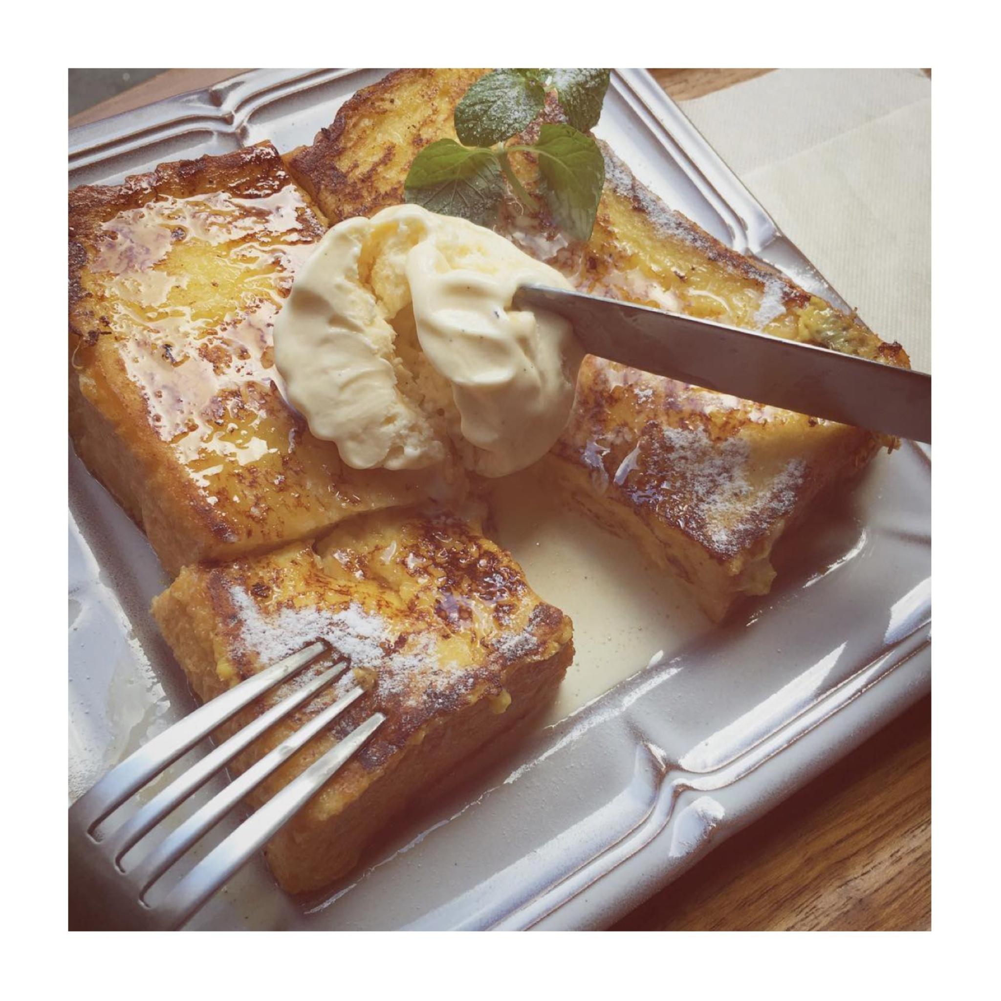 #18【#cafestagram】❤️:《東京•人形町》都内で絶品フレンチトーストを食べるならココ☝︎『UNISON TAILOR』☻_4
