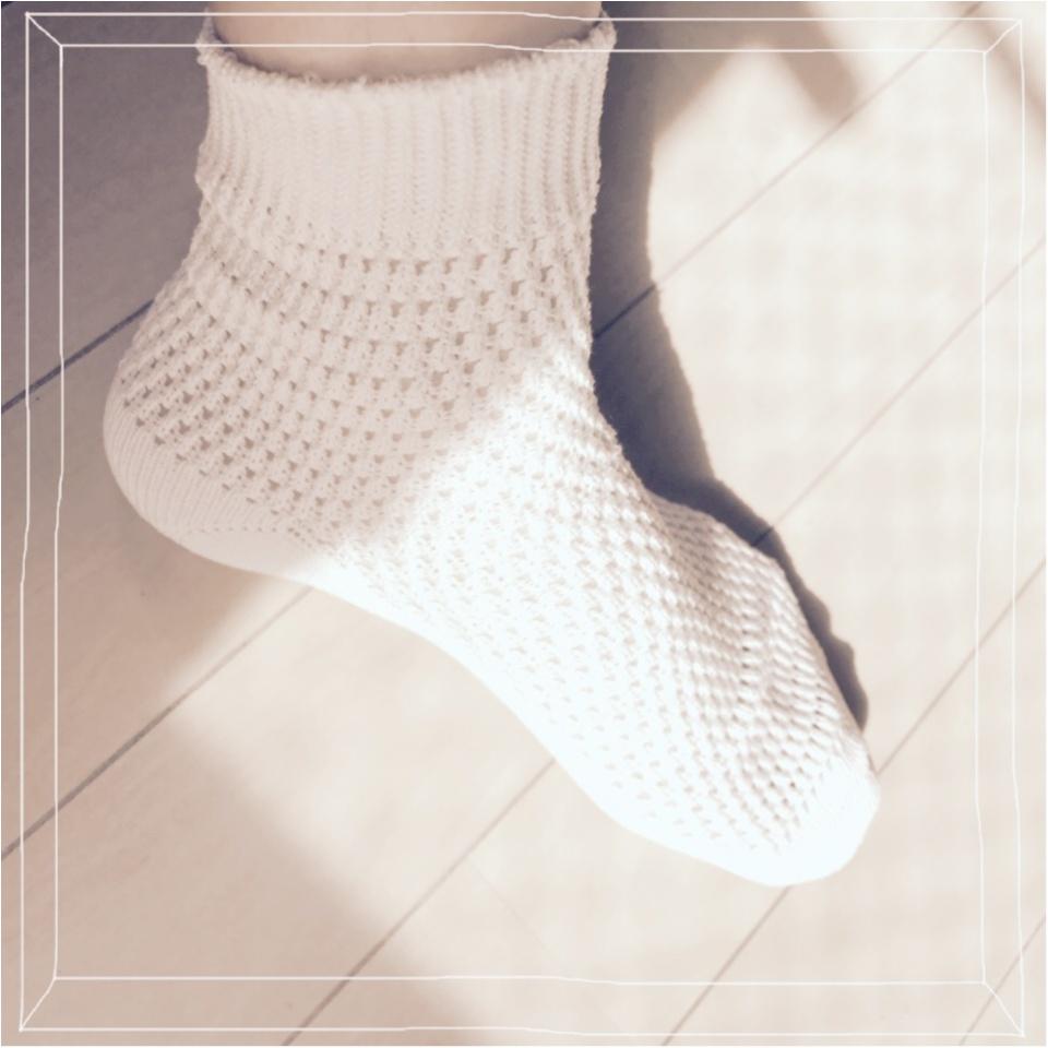 …ஐ 〈靴下屋〉オシャレさんは足もとまでぬかりなく!私が選んだ靴下3選 ❤️ ஐ¨_3
