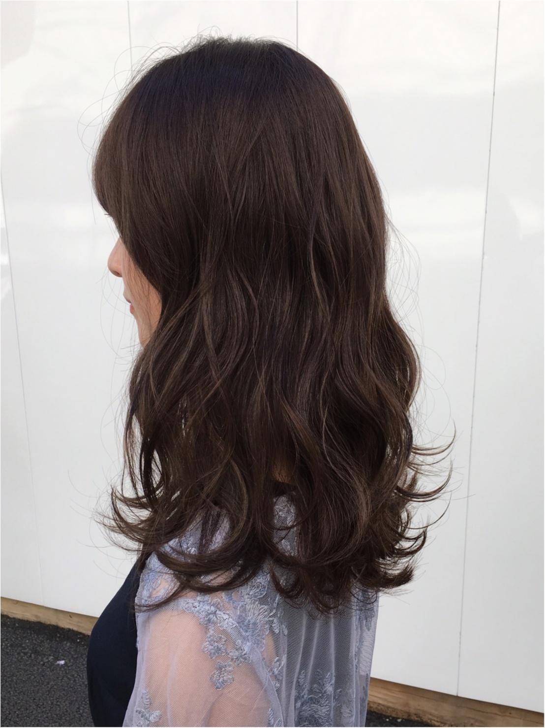《暗髪でも圧倒的透明感!》秋のヘアカラーは【ラベンダーグレーアッシュ】がオススメ❤️_4