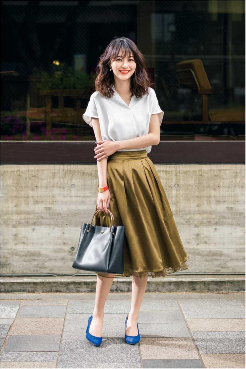 真夏のオフィスカジュアル特集 - ワンピースやTシャツなど、涼しげだけどきちんと見えが叶うコーデ_32
