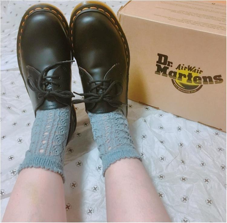 最後の記事はもちろん大好きな靴がテーマ♡《世界の靴好きがこよなく愛する老舗の1足》ドクターマーチンの純正3ホールをお買い上げ♡人気サンダルもご紹介します♡_3
