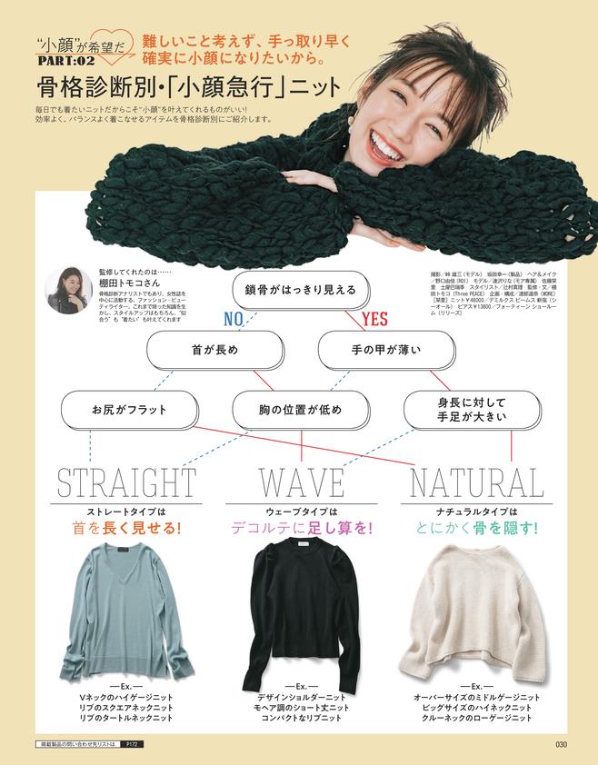 """ファッションでも、メイクでも。 20代の冬こそ""""小顔""""が希望だ♡(3)"""