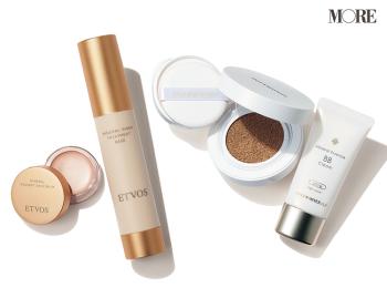 肌に優しい処方、スキンケア機能、UVケア効果が叶う「ミネラル系ベースメイク」4選。『エトヴォス』のノンケミカル処方下地や『オンリーミネラル』の美容液BBなど