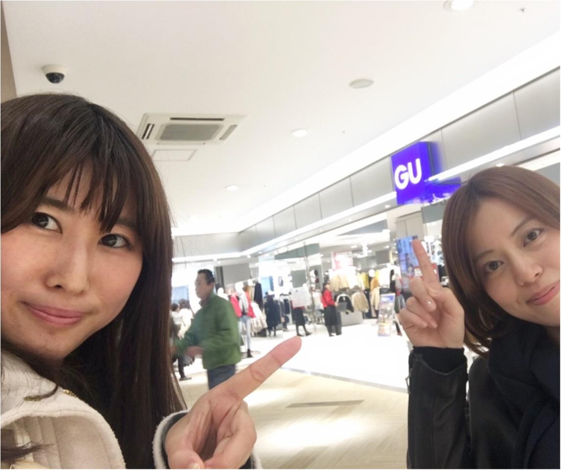 《超大型店限定》ざっくり感がかわいすぎっ♡ GUのケーブルセーター!_1