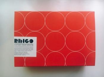 【スイーツ】《RINGO》といえば!クリームたっぷりの定番アップルパイ♪