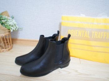 《梅雨もハッピーに❤️》3千円台で買える【Oriental Traffic】レインブーツ☻
